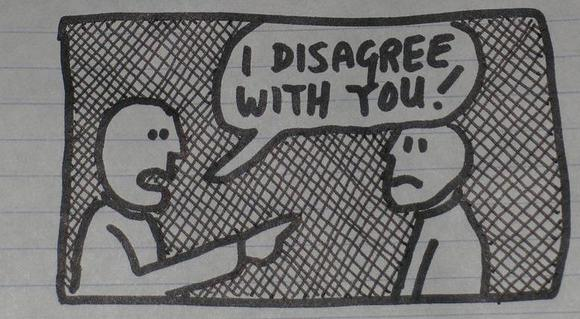 Dealing With Those Who Disagree